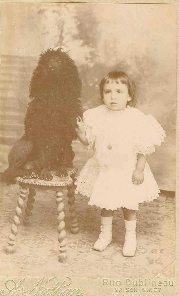 Ma mère en 1907