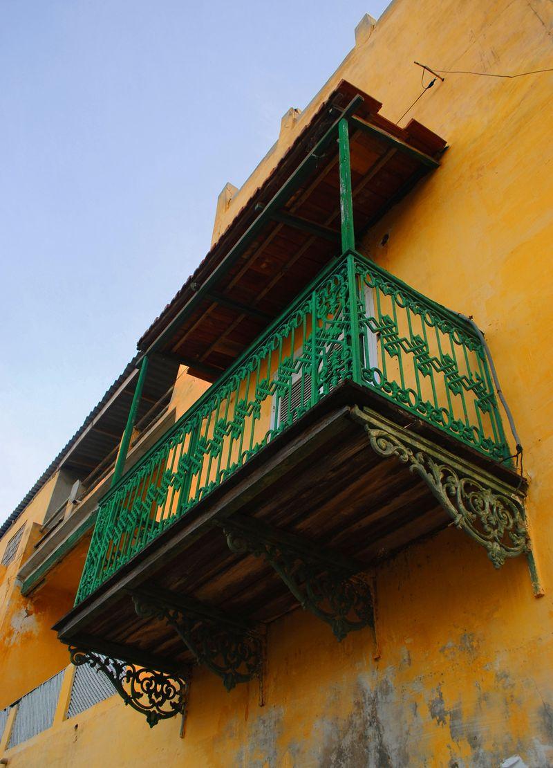 Sénégal balcon