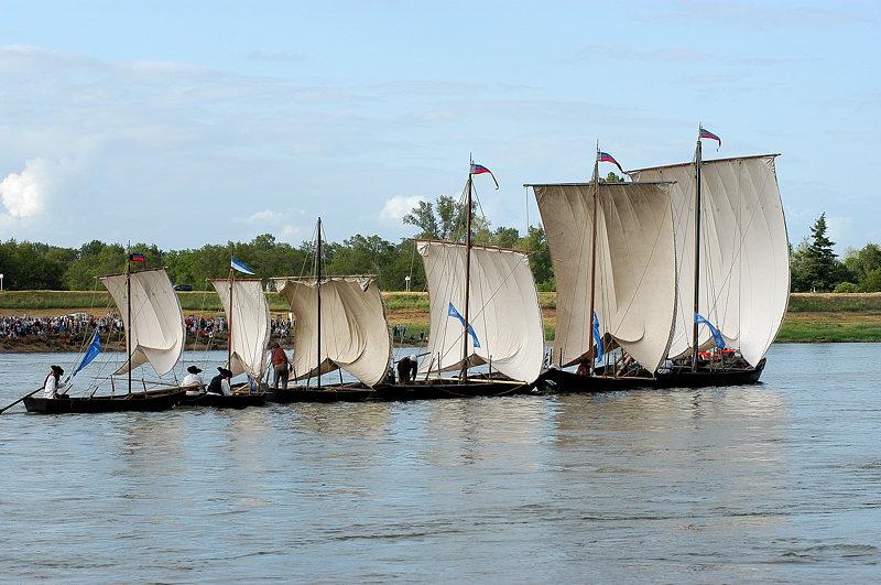 Les Dalton font du bateaux