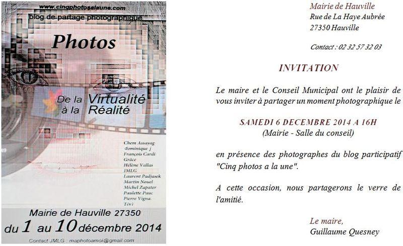 Expo photo - Invitation