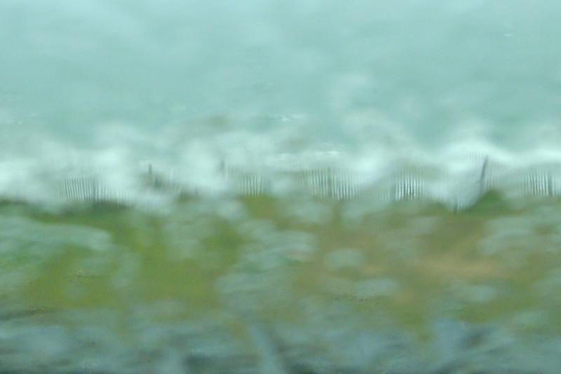 La pluie est traversière - MZ