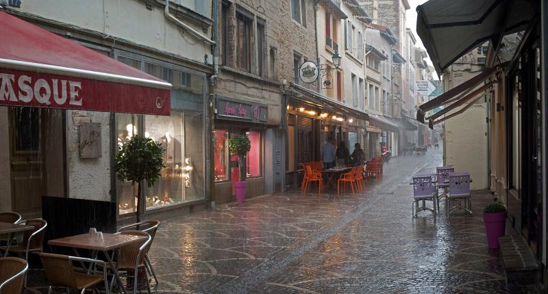Aujourd'hui -il-pleut...
