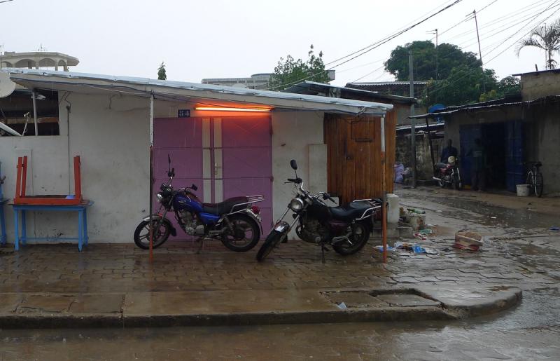 Pluie cotonou