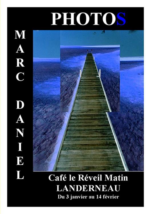 Affiche expo - Marc Daniel
